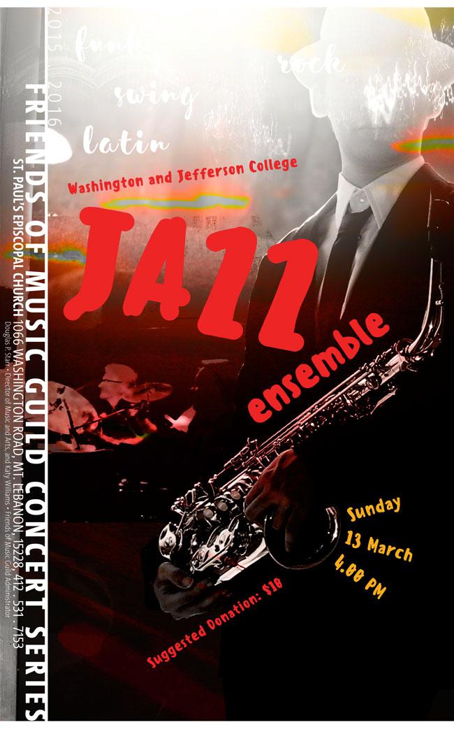 Washington & Jefferson Jazz Ensemble concert
